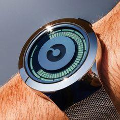 Silver Saturn Watch by Ziiiro