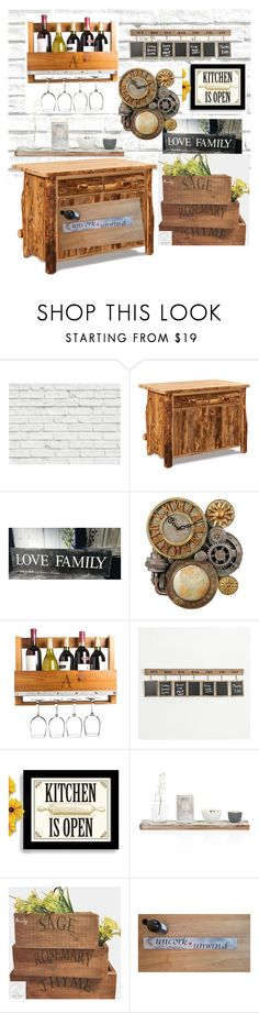 """Untitled #52"" by bugsixteen ❤ liked on Polyvore featuring interior, interiors, interior design, home, home decor, interior decorating, Brewster Home Fashions, DutchCrafters and Cathy's Concepts"
