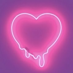 Pink Neon Heart