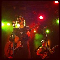 Una instantánea del concierto de Brooke Fraser en la sala Bikini de Barcelona