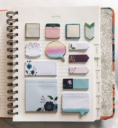Survivingmalcolmhell: guccithingy: look how school stationery, cute stationary school supplies School Supplies Tumblr, Cute School Supplies, Cute Stationary School Supplies, Notes Autocollantes, Sticky Notes, Make Up Organizer, School Suplies, Stationary Store, School Stationery