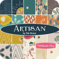 Artisan by Pat Bravo for Art Gallery Fabrics - August 2015