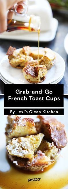6. Grab-and-Go French Toast Cups #healthy #breakfast #recipes http://greatist.com/eat/healthy-breakfast-cup-recipes-to-fuel-your-mornings
