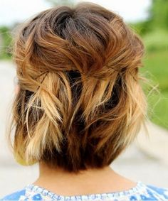 Short Chic Ombre Hairstyles for Women
