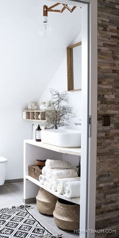 77 Gorgeous Examples of Scandinavian Interior Design Scandinavian-neutral-bathroom