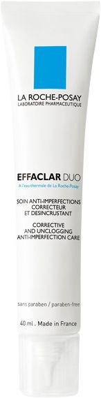 Eliminate sever skin imperfections with the La Roche-Posay Effaclar Duo, a corrective and unclogging moisturiser #FrenchPharmacy and Part of my skin care dream team!