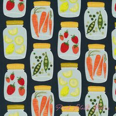 Cute apron fabric!