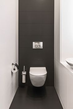 Apartment with park view. Kiev Lavabo Apartment with park view. Small Toilet Design, Small Toilet Room, Guest Toilet, Modern Bathroom Design, Bathroom Interior Design, Small Bathroom, Modern Toilet Design, Toilet Tiles Design, Lavabo Exterior