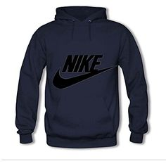 JamesHLowe Womens Hoodies NIKE Navy Blue Size M >>> For more information, visit image link.