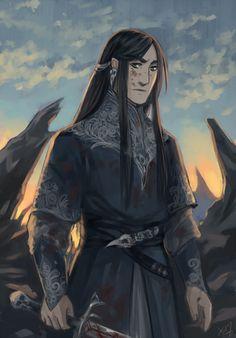 Fingolfin #silmarillion #fanart