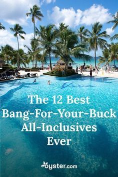 Don't meet any unexpected surprises on your next getaway. We did the research and found 18 all-inclusive hotels in the Caribbean and Mexico that will give you the most value for your next vacation. All Inclusive Mexico, All Inclusive Resorts, Barbados Resorts, Cancun Mexico, Vacation Resorts, Dream Vacation Spots, Need A Vacation, Vacation Travel, Beach Travel