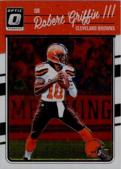 56746961d0a 2016 Donruss Optic Football #23 Robert Griffin III Cleveland Browns  #DonrussOptic #ClevelandBrowns Robert