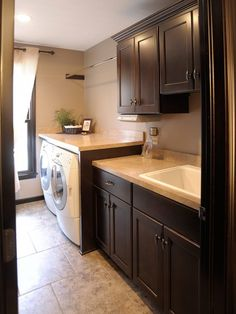 Traditional Laundry Room Design,