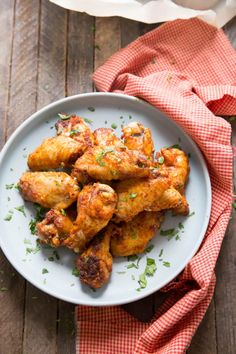 Crispy Baked Chicken Wings With BBQ Dry Rub Low Carb Sisters. Dry Rub Chicken Wing LemonsforLulu Com. Dry Rub Chicken Wings, Cooking Chicken Wings, Chicken Wings Spicy, Chicken Spices, Dry Rub For Wings, Sweet And Spicy Chicken, Crispy Baked Chicken, Fried Chicken, Chicken Penne