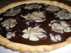 Coco e Baunilha: Tarte de Chocolate Preto e Branco