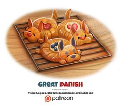 Day 1384. Great Danish by Cryptid-Creations Time-lapse, high-res and WIP sketches of my art available on Patreon (:Twitter • Facebook • Instagram • DeviantART