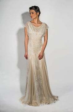 Ophelia by Belle & Bunty - 1920s wedding dresses