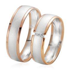 En or blanc et rose, la Duo Aignane & Aria est très élégant. L'alliance Aignane est féminisée par 3 diamants blancs. http://www.zeina-alliances.com/alliance-duo/3565-duo-aignane-aria.html