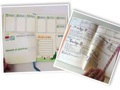 Cool cut-away page ideas!