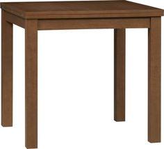 Form Walnut Flip-Top Table  | Crate and Barrel