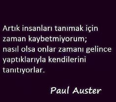 Paul Auster sözleri Motto Quotes, Words Quotes, Life Quotes, Paul Auster, Motivation Wall, Cool Words, Personal Development, Karma, Instagram Story