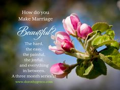 How Do You Make Your Marriage Beautiful? By learning how to stay, despite the conflicts. buy Gail Dudley