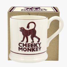 Cheeky Monkey 1/2 Pint Mug Boxed