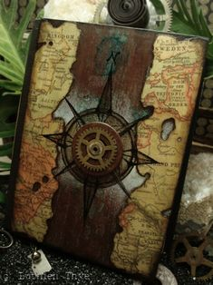 compass map book