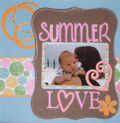 Summer Love - Scrapjazz.com