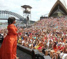 Australia loves Oprah
