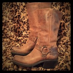 BCBGirls Crazy Horse Harness Boots size 8.5 Like new condition! BCBGirls - distressed brown - Crazy Horse harness boots! Size 8.5. Western boots. Motorcycle boots. BCBGirls Shoes Combat & Moto Boots