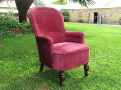 Pink Vintage Betty Armchair