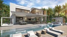 Modern Houses for Sale In California. Modern Houses for Sale In California. Modern Kit Homes California Sale Kaf Mobile Homes Build Your Dream Home, My Dream Home, Dream Homes, Modern Miami, Small Beach Houses, Modern Mansion, Modern Houses, Modern Patio, Architecture Plan