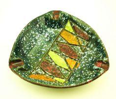 Bitossi Mid Century Italian Art Pottery Ashtray Vintage Eames Era Italy Raymor in Pottery & Glass, Pottery & China, Art Pottery | eBay