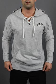 NEW COLORS! - Premium Laced Strength & Passion Hooded Jersey Pullover
