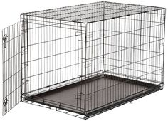 Buy Pet Dog Cat Heavy Duty Folding Metal Crates Cage Kennel Divider Training 48 at online store Xxxl Dog Crate, Extra Large Dog Crate, Single Door Design, Cat Crate, Airline Pet Carrier, Crate Cover, Dog Cages, Buy Pets, Pet Carriers