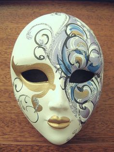 Mask by njj4, via Flickr - - - China Venetian mask