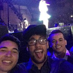 Neymar & friends @ Katy Perry concert
