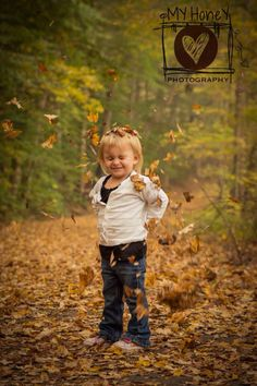 Fall little girl leaves lifestyle fun photography
