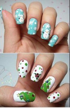 Loveeeee the snowmen!♥ i love the trees too! i love Christmas!! like if u do too ^_^