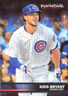 2016 Topps Wal-mart Marketside Pizza #41 Kris Bryant Front