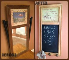 Crafty In Crosby: Thrift Store Frame Up-Cycle