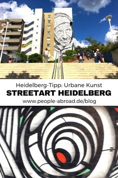 Urban Art: Graffiti & Street Art in Heidelberg - Ausflug Modelb Site Graffiti Kunst, Urbane Kunst, Professional Landscaping, Culture Travel, Urban Art, Landscape Design, Travel Destinations, Scenery, Tours