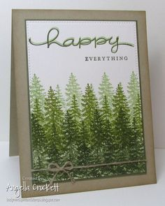 FS563 Happy Everything by angelladcrockett - Cards and Paper Crafts at Splitcoaststampers