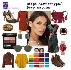 """Diepe herfsttype/ Deep autumn color type."" Margriet Roorda-Faber, Style Consulting."