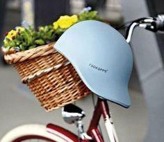 Ponytail friendly Bicycle Helmet