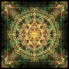 Sri Yantra Healing Mandala by Lilyas.deviantart.com on @DeviantArt