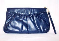 Gorgeous Blue Saphire Vintage Clutch  Perfect by DIXIETEXTILES, $20.00