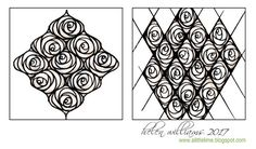 a little lime: String Rose PATTERN