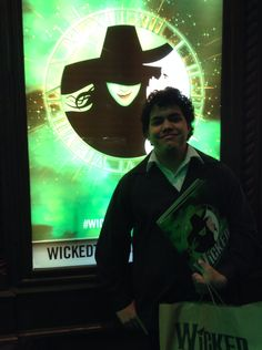 Me awaiting to see Wicked in Sydney at the Capitol theatre   #Wicked #Wickedthemusical